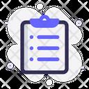 Task Clipboard Checklist Icon