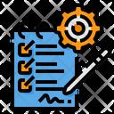 Task List List Management Icon