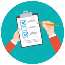 Task Check Business Icon