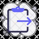 Task Share Clipboard Icon