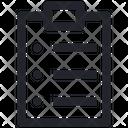 Task List Clipboard Icon