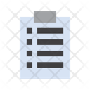 Medical List Checklist Report Icon