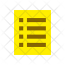 Medical List Document Icon