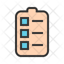 Tasks Checklist Workflow Icon