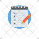 Checklist Schedule Task Icon