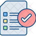 Completed Tasks Checklist Icon