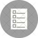 Tasks List Icon