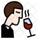 Wine Taste Smell Icon