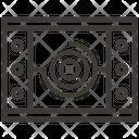 Tatami Floor Japanese Icon