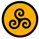 Tradition Round Tattoo Icon
