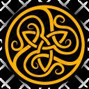 Label Celtic Sign Icon