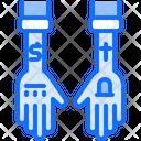 Tattoo Hand Shirt Icon