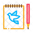 Tattoo Notebook Icon