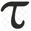 Tau Math Geometry Icon