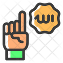 Tauhid One Hand Icon