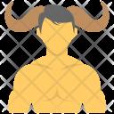 Taurus Taurean Person Icon