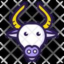 Animal Bull Gaur Icon
