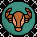 Taurus Bull Side View Icon