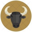 Taurus Sign Symbol Icon