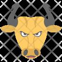 Taurus Bull Face Icon