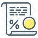 Tax Duty Charge Icon