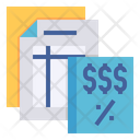 Tax Payment Calculation Icon