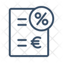 Tax Tax Form Customs Icon