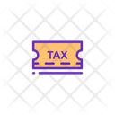 Tax Tax Invoice Tax Slip Icon
