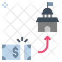 Tax Charge Fee Icon