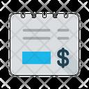 Tax Receipt Purchase Icon