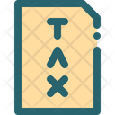 Tax Business Money Icon