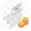 Tax Accounting File Proportional Tax Icon
