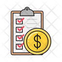 Tax Invoice Checklist Icon