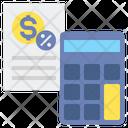Tax Calculator Percentage Icon