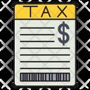 Tax Finance Bill Icon