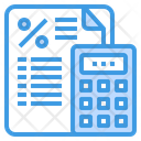 Tax Document Financial Icon