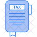 Tax Tax Invoice Tax Book Icon