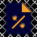 Tax Bill Ticket Icon