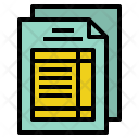 Tax Form Invoice Icon