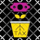 Pot Tax Invoice Icon