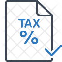 Tax Paid Audit Icon