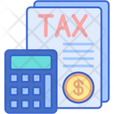 Tax Accounting Icon