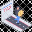 Tax Avoidance Icon