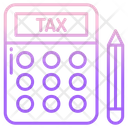 Tax Calculating Icon