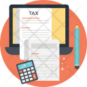 Taxation Accounting Financing Icon