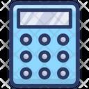 Tax Calculation Calculator Adding Machine Icon