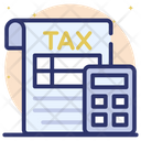 Tax Calculation Icon