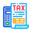 Tax Calculator System Icon