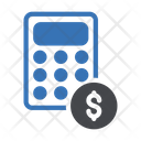 Tax Calculation Accounting Calculation Icon