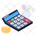 Accounting Budgeting Bookkeeping Icon
